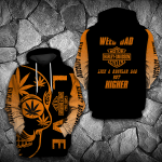 LIMITED EDITION- 3D HOODIE – 9082TH