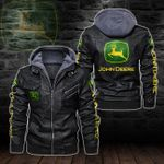 HOODED LEATHER JACKET – LIMITED EDITION-5815A