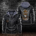 HOODED LEATHER JACKET – LIMITED EDITION-5802A