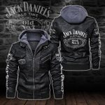 HOODED LEATHER JACKET – LIMITED EDITION-8272A