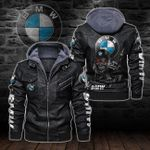 HOODED LEATHER JACKET LIMITED EDITION-8253A