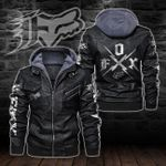 HOODED LEATHER JACKET LIMITED EDITION-8252A