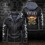HOODED LEATHER JACKET LIMITED EDITION-5793A