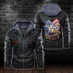 HOODED LEATHER JACKET LIMITED EDITION-5794A