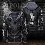 HOODED LEATHER JACKET LIMITED EDITION-8255A