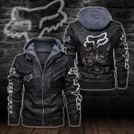 HOODED LEATHER JACKET LIMITED EDITION-8258A