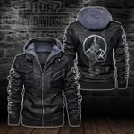 HOODED LEATHER JACKET – LIMITED EDITION-5797A