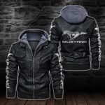 HOODED LEATHER JACKET LIMITED EDITION-5792A