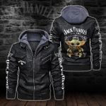 HOODED LEATHER JACKET LIMITED EDITION-5791A