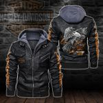 HOODED LEATHER JACKET LIMITED EDITION-5788A