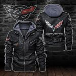 HOODED LEATHER JACKET – LIMITED EDITION-8251A