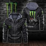 HOODED LEATHER JACKET – LIMITED EDITION-8245A
