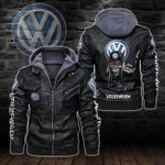 HOODED LEATHER JACKET LIMITED EDITION-8243A