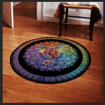 LIMITED EDITION – DRAGON – ROUND RUG 9047TH