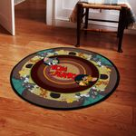 LIMITED EDITION – DRAGON – ROUND RUG 7322TH