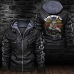 HOODED LEATHER JACKET LIMITED EDITION-7270