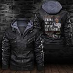 HOODED LEATHER JACKET LIMITED EDITION-7274