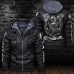 HOODED LEATHER JACKET LIMITED EDITION ZPLT7228