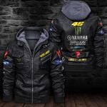 HOODED LEATHER JACKET LIMITED EDITION ZPLT7234