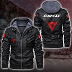 HOODED LEATHER JACKET LIMITED EDITION ZPLT7238