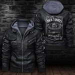 HOODED LEATHER JACKET LIMITED EDITION ZPLT7236