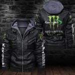 HOODED LEATHER JACKET LIMITED EDITION ZPLT7239