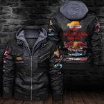 HOODED LEATHER JACKET LIMITED EDITION ZPLT7249