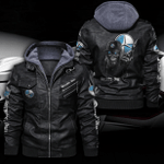 MERCEDES HOODED LEATHER JACKET LIMITED EDITION ZPLT9022TH