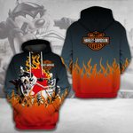 LIMITED EDITION- 3D HOODIE – 6395TR-LMS