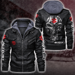 HOODED LEATHER JACKET LIMITED EDITION ZPLT7235TH