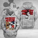 WHITE MICKEY FOR FANS – 3D HOODIE – 6349TR