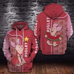 THE P.I.G.L.E.T WITH LOVE- 3D HOODIE – 6161A