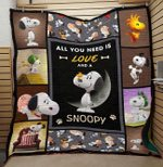 LIMITED EDITION – NEED LOVE AND SNOOPY BLANKET 5206T