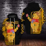 P.O.O.H WITH LOVE- 3D HOODIE – 6096A