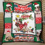 LIMITED EDITION – CHRISTMAS WITH PUG BLANKET 6107A