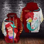 THE LITTLE PRINCESS WITH LOVE- 3D HOODIE – 6144A