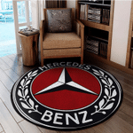 LIMITED EDITION – THE MERC ROUND RUG 6186A