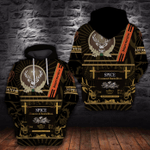 JAGER'S LOVER – 3D HOODIE 7047A