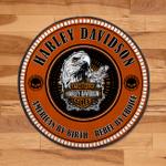 LIMITED EDITION – HL DAVIDSON ROUND RUG 6078A