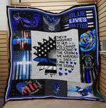 LIMITED EDITION – BLUE LIVES MATTER BLANKET 4148