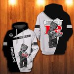 LIMITED EDITION – GROOT AND NISSAN GT-R – 4134T – HOODIE