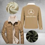 MER-BENZ FLEECE FUR COLLAR JACKETS (LIMITED EDITION) FCJ2684