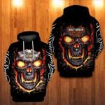 3D HOODIE – LAVA SKULL- HL D.SON (LIMITED EDITION)