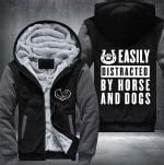 FLEECE JACKET-DOG-AND-HORSE-LIMITED EDITION