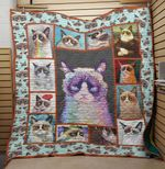 LIMITED EDITION LOVE FOR GRUMPY CAT BLANKET