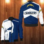 LIMITED EDITION THE L.A CHARGERS 3D BOMBER