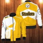 LIMITED EDITION THE P.STEELERS 3D BOMBER
