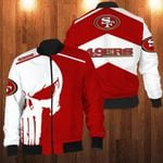 LIMITED EDITION S. F 49ERS TEAM 3D BOMBER