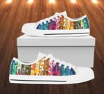 LIMITED EDITION COLORFUL PATTERNS LOW TOP SHOES