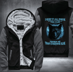 "I KEEP IT ALL INSIDE"" WOLF FLEECE JACKET – LIMITED EDITION"